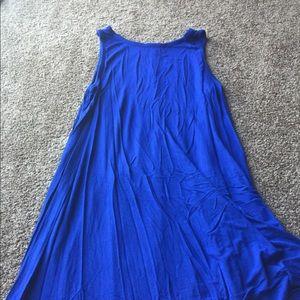 Old Navy Blue Swing dress - size Large